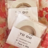 手帳でのtodo管理が楽しくなりそうなtodoマスキングテープ