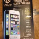 知らなかったよ、iphone画面がこんなにきれいだとは。。強化ガラス貼ってみた。