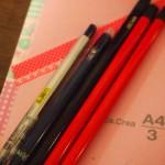ネタ帳・えんぴつ・ブルーブラック…文房具ブーム続行中です